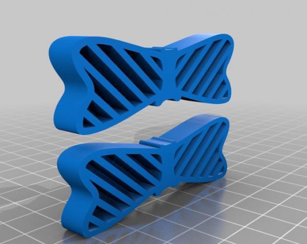 蝴蝶结 鞋饰 3D模型  图3