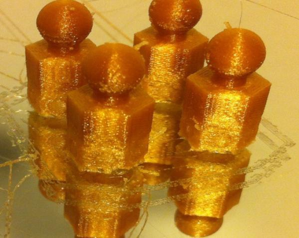 六面体链式吊坠 3D模型  图2
