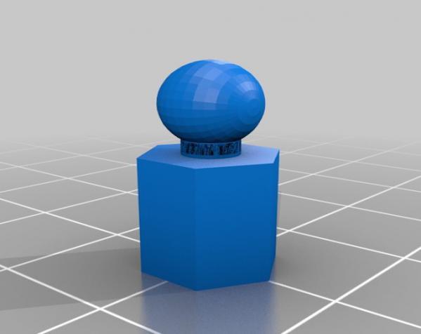 六面体链式吊坠 3D模型  图3