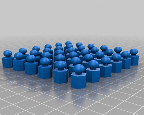 六面体链式吊坠 3D模型  图8