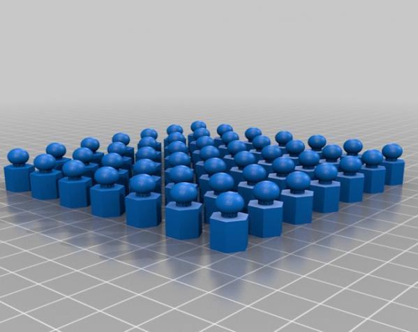 六面体链式吊坠 3D模型  图9