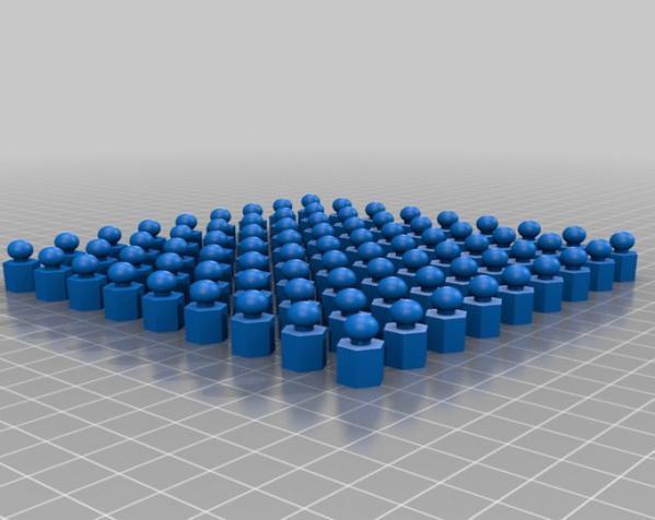 六面体链式吊坠 3D模型  图11