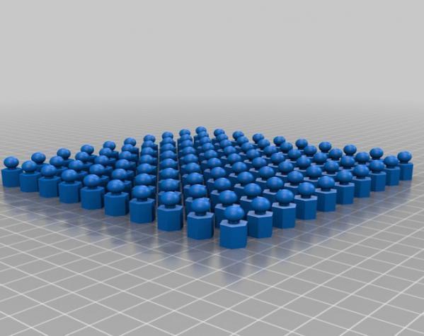 六面体链式吊坠 3D模型  图12
