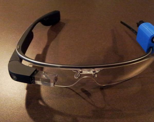 G-Torch谷歌眼镜  3D模型  图3