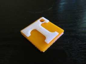 T字 吊坠 3D模型