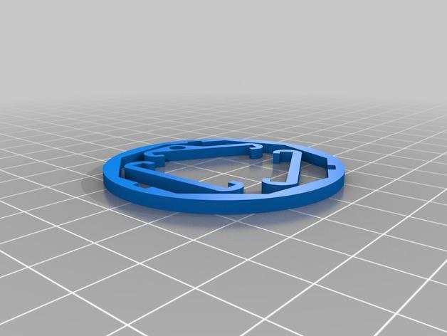 酒杯 索环 3D模型  图2
