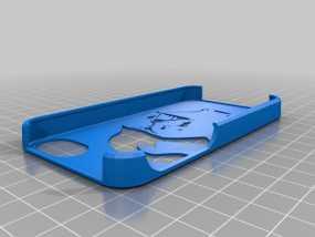 黑武士 iPhone 4S手机套 3D模型