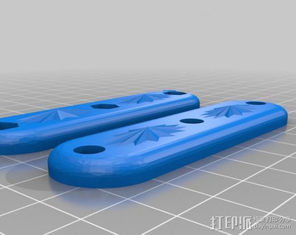 双星 瑞士军刀 3D模型  图2