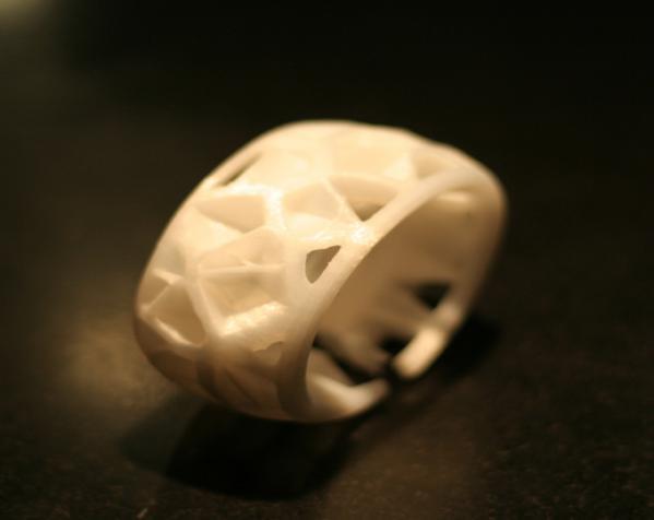泰森多边形手镯 3D模型  图5