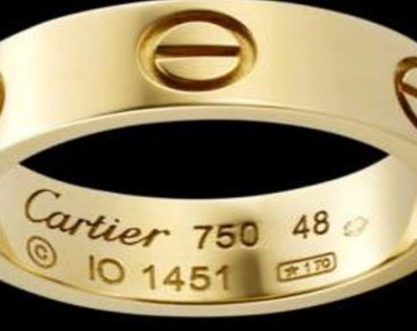 Cartier卡蒂亚戒指 3D模型  图2