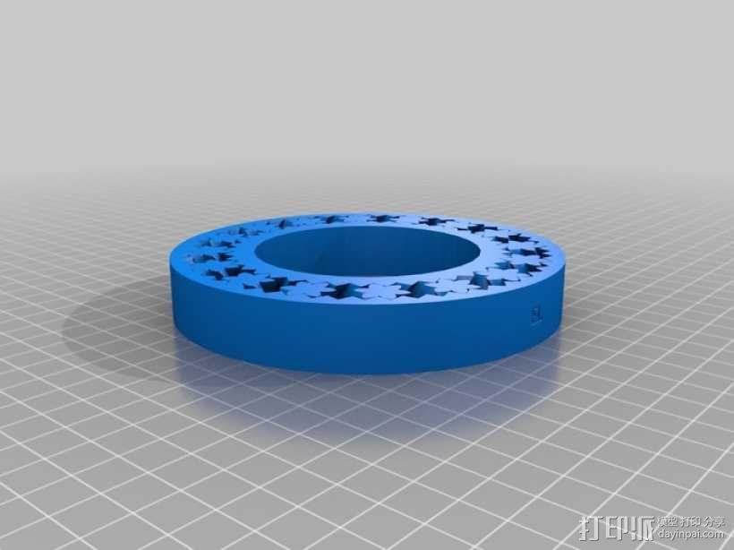 轴承手镯 3D模型  图2