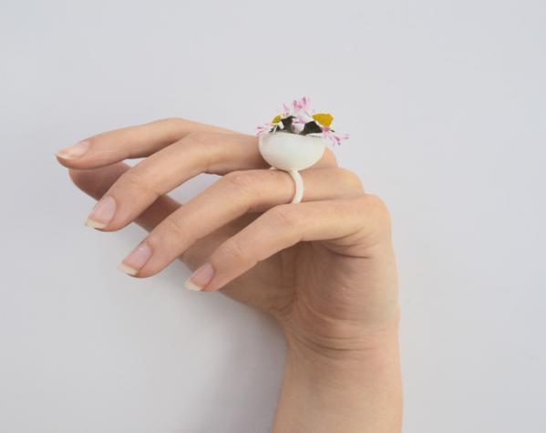 珍珠戒指 3D模型  图6