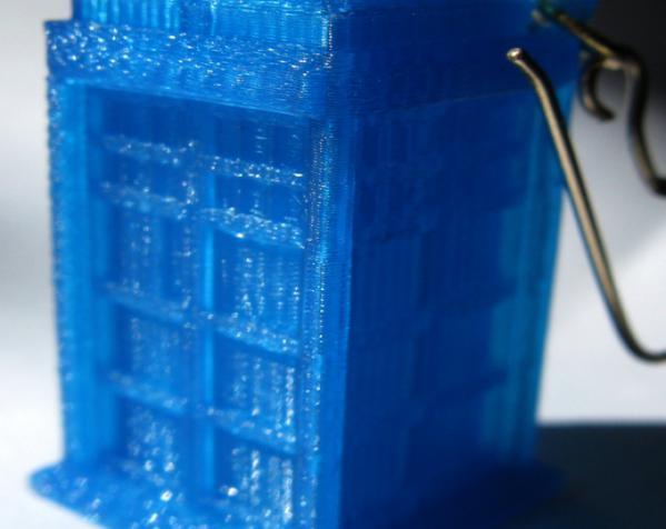 LED 电话亭时光机 耳坠 3D模型  图6
