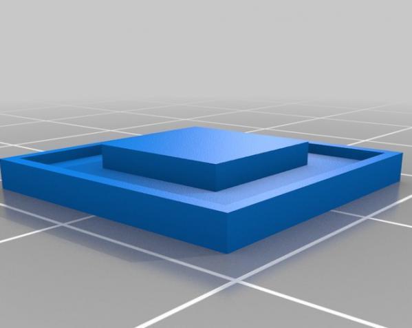 LED 电话亭时光机 耳坠 3D模型  图5