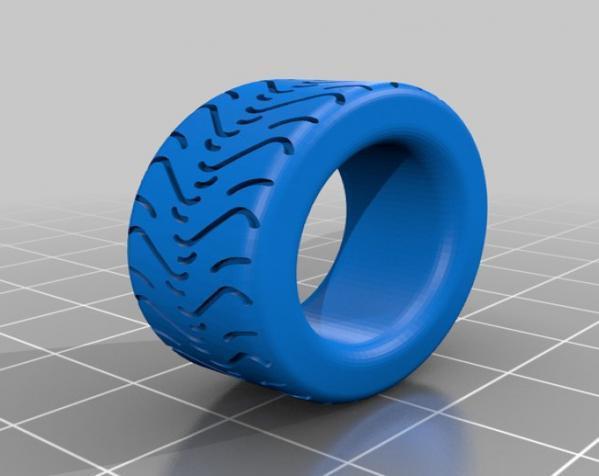 轮胎形 戒指 3D模型  图4