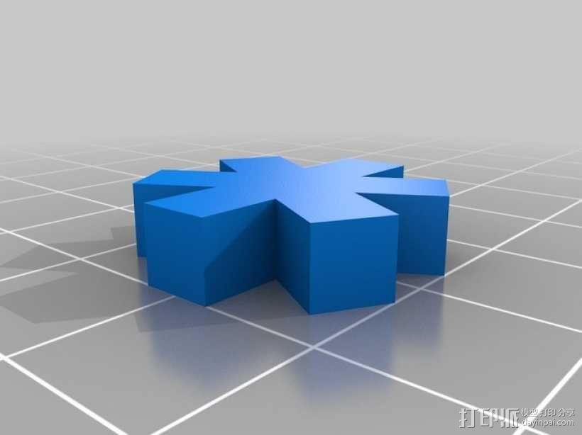 生命之星 吊坠 3D模型  图2