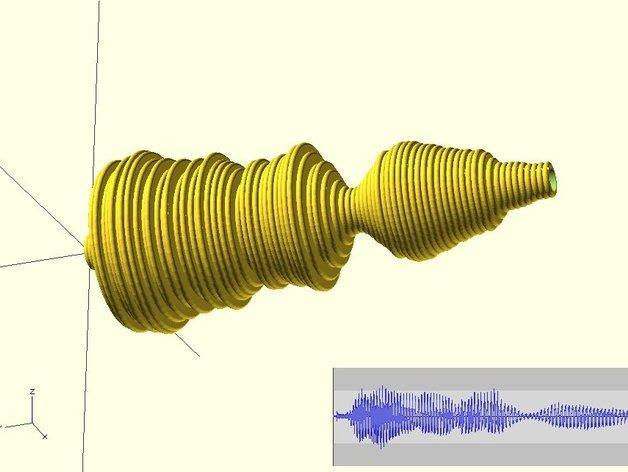 声波手镯 3D模型  图1