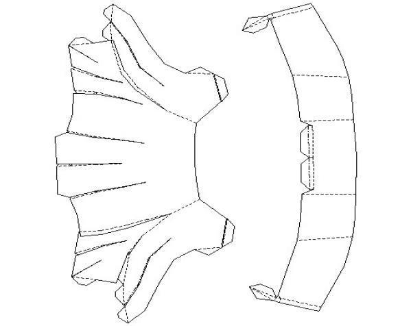 纸质钢铁侠头盔 3D模型  图7