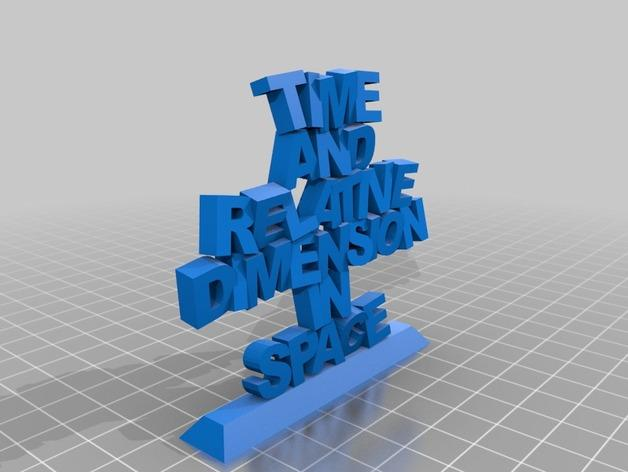 Tardis吊坠 3D模型  图4