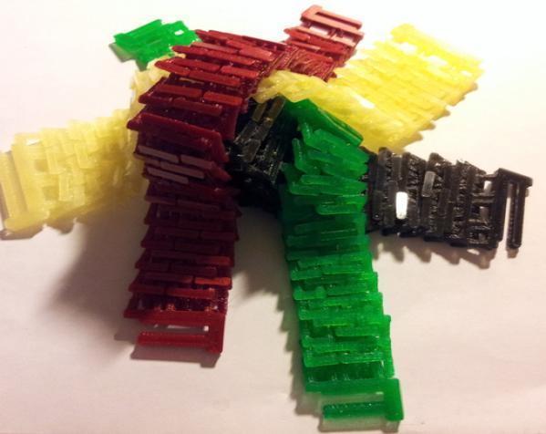 锁甲手链 3D模型  图2