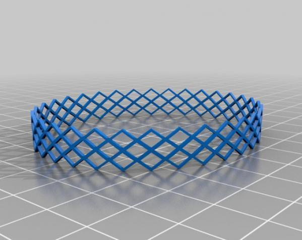 几何图形手镯 3D模型  图3
