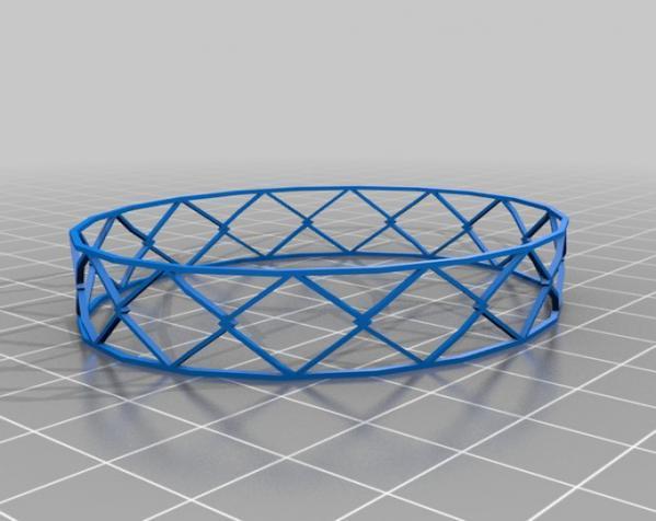 几何图形手镯 3D模型  图4