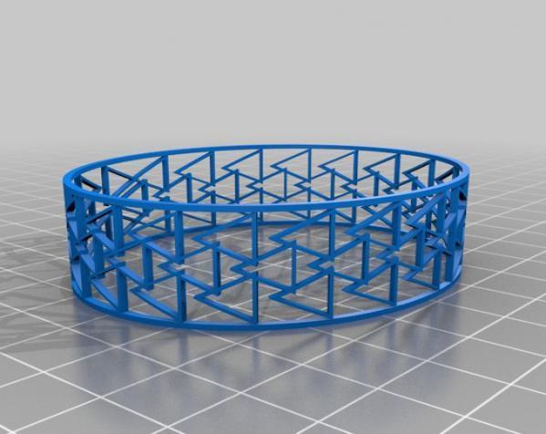 几何图形手镯 3D模型  图6