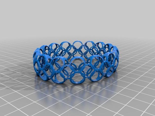 几何图形手镯 3D模型  图7