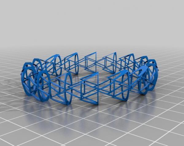 几何图形手镯 3D模型  图8