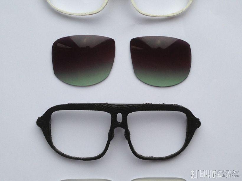 3D打印眼镜 3D模型  图5