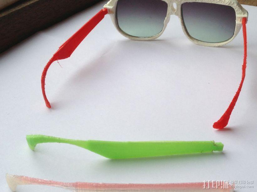 3D打印眼镜 3D模型  图3