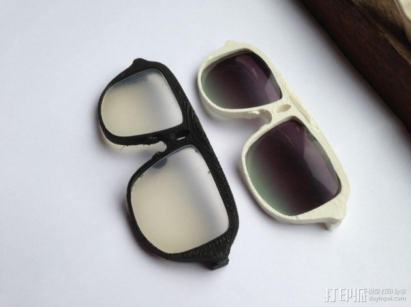 3D打印眼镜 3D模型  图4