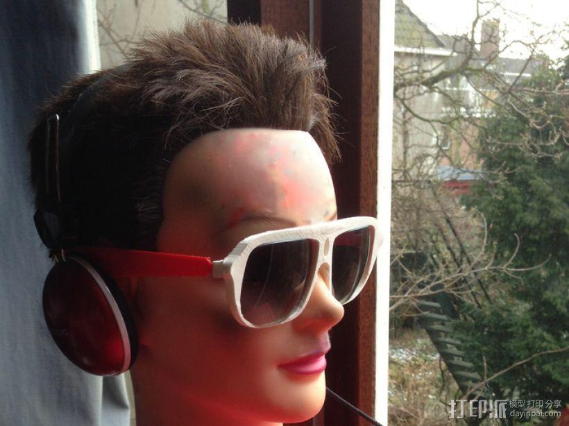 3D打印眼镜 3D模型  图9