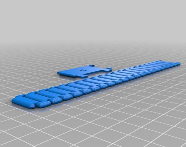 Nano 手表带 3D模型  图5