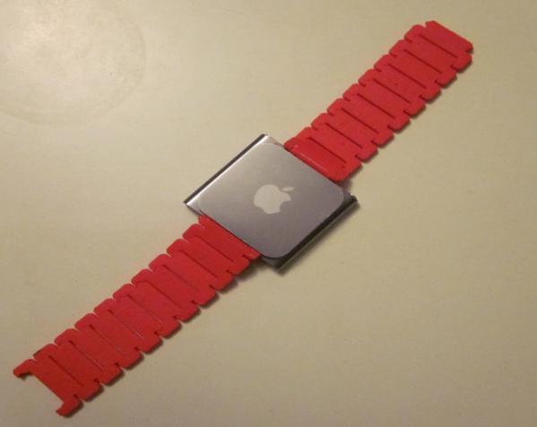 Nano 手表带 3D模型  图2