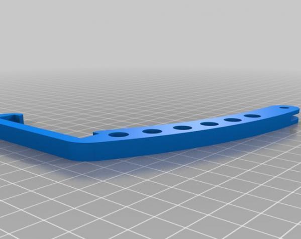 iPhone GoPro头戴式支架 3D模型  图1