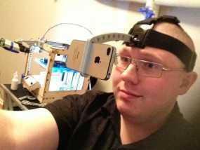 iPhone GoPro头戴式支架 3D模型