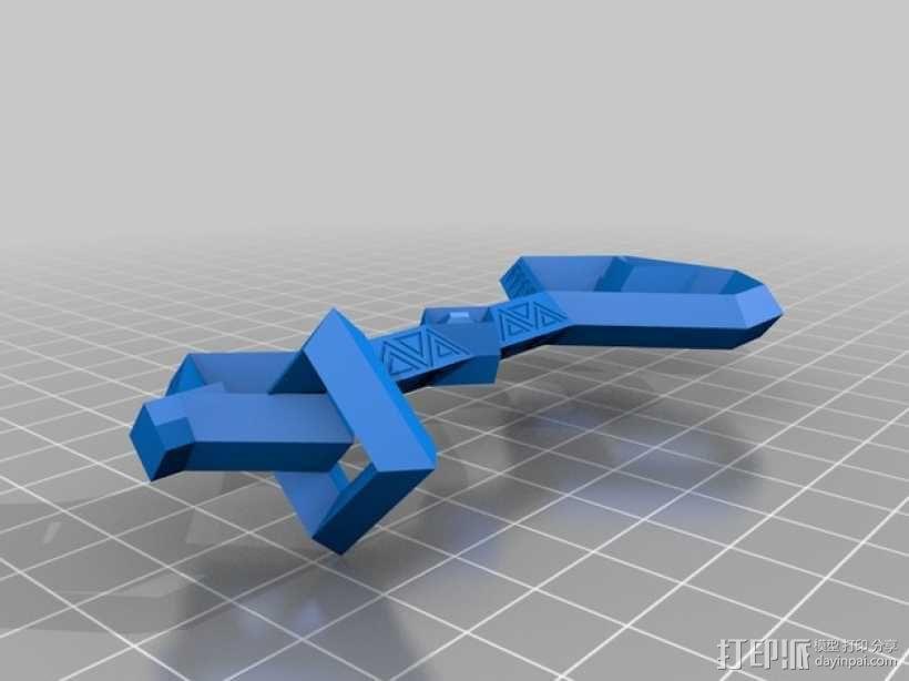 Erebor 钥匙 3D模型  图2