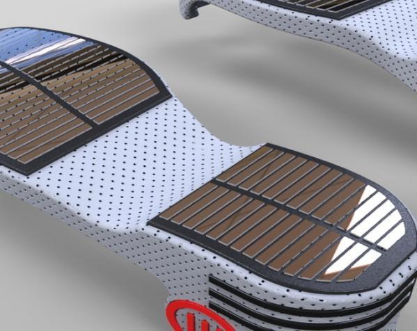 重力鞋 3D模型  图3