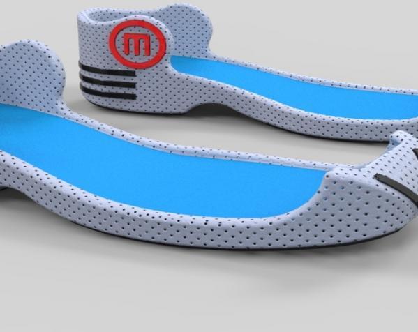 重力鞋 3D模型  图2