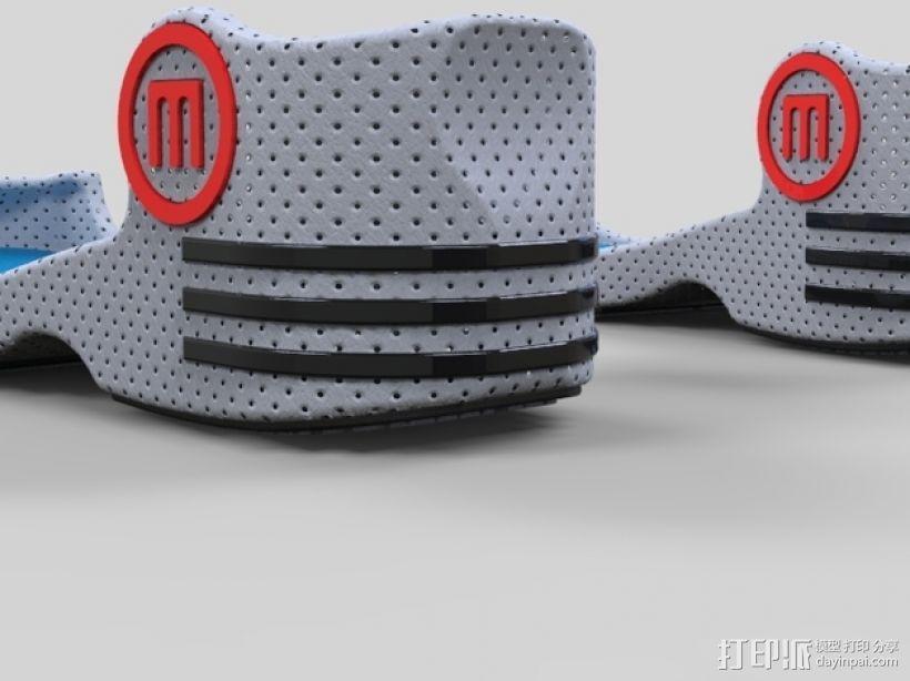重力鞋 3D模型  图1