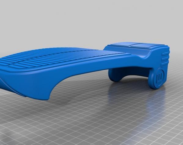 重力鞋 3D模型  图5