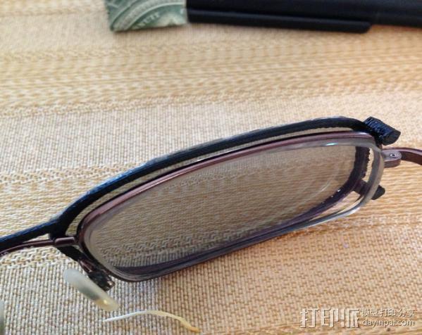3D眼镜 眼镜框 3D模型  图4