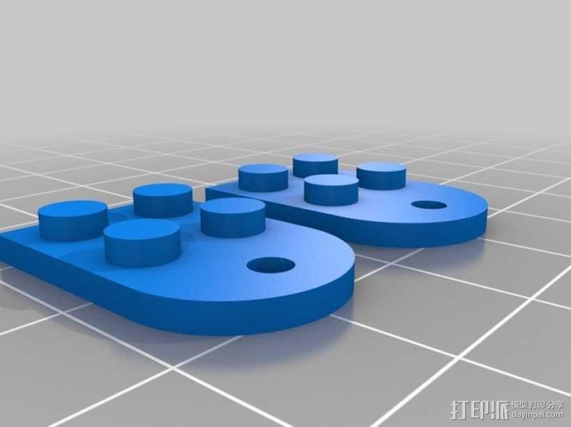 乐高积木 吊坠 3D模型  图2