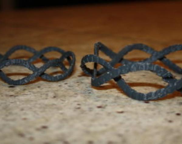 螺旋 手镯 3D模型  图5