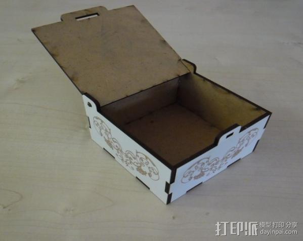 首饰盒 3D模型  图7
