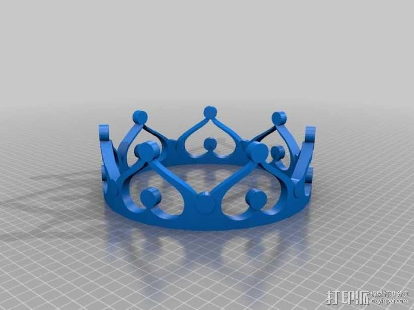 皇冠 3D模型  图3