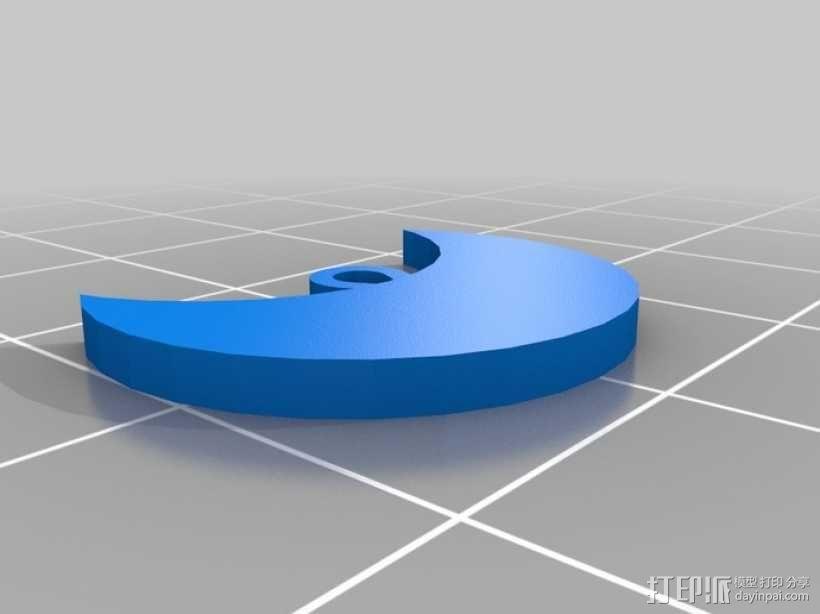 美少女战士 首饰 3D模型  图3
