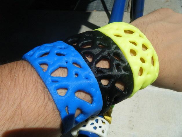 细胞膜 手环 3D模型  图2