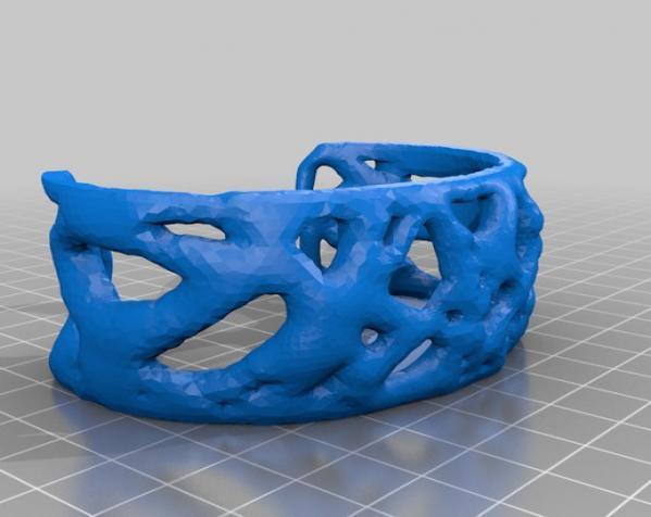 细胞膜 手环 3D模型  图3